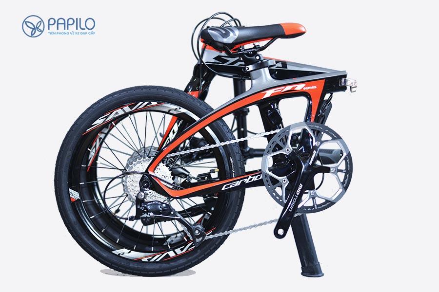 Xe đạp siêu nhẹ Sava Carbon 9s