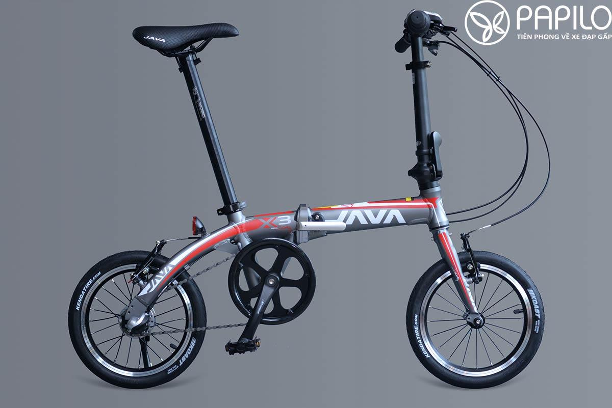 Xe đạp thể thao gấp gọn cho học sinh Java X3