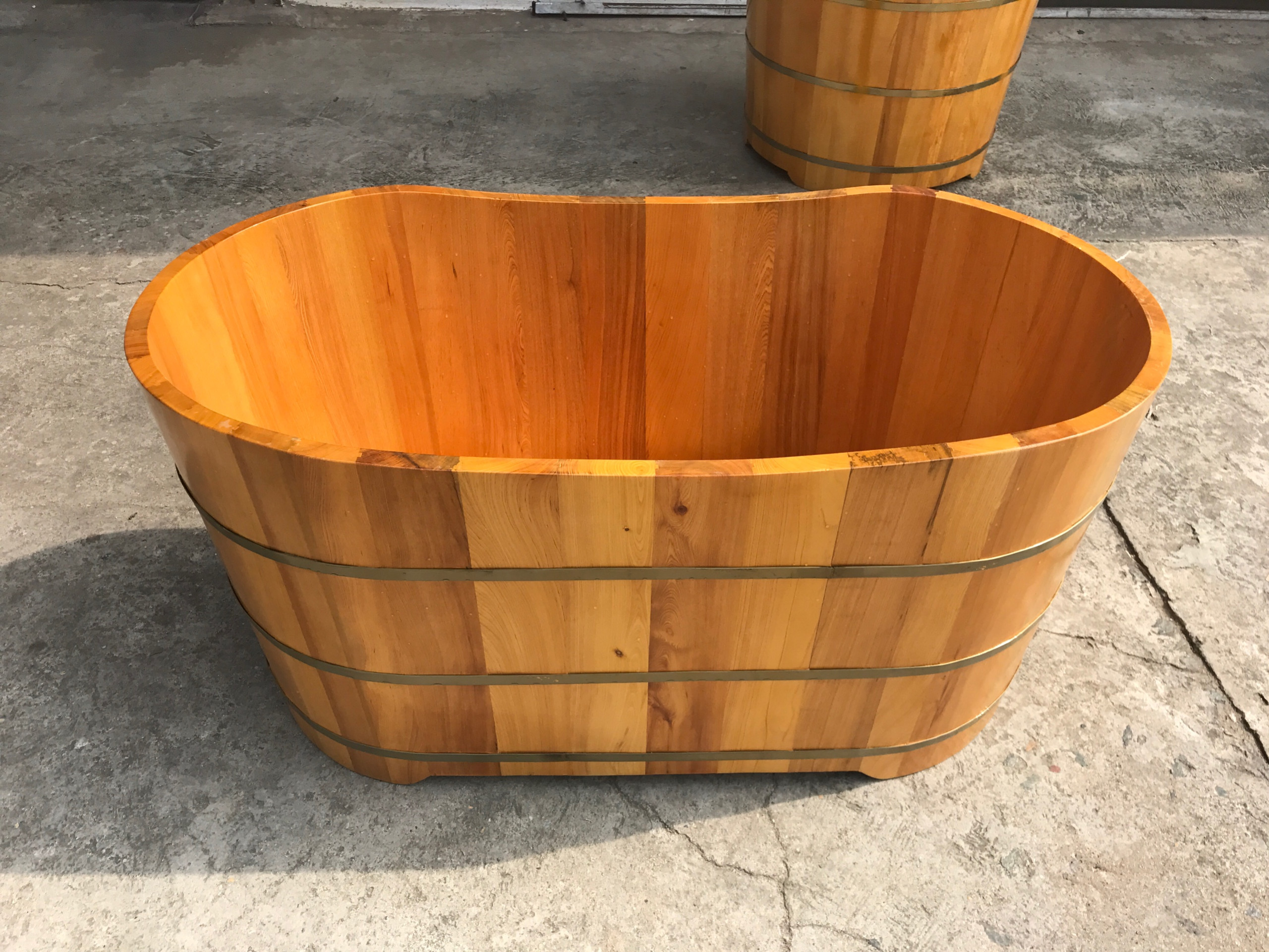 Bồn tắm gỗ pơmu, bồn tắm gỗ giá rẻ