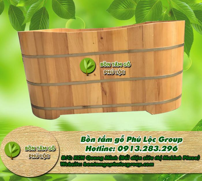 Bồn tắm gỗ sồi, Bồn tắm gỗ giá rẻ