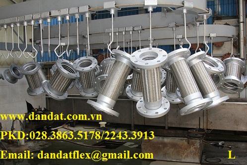 Khớp nối mềm (INOX & THÉP) - khớp chống rung, khớp giảm chấn, ống chống rung