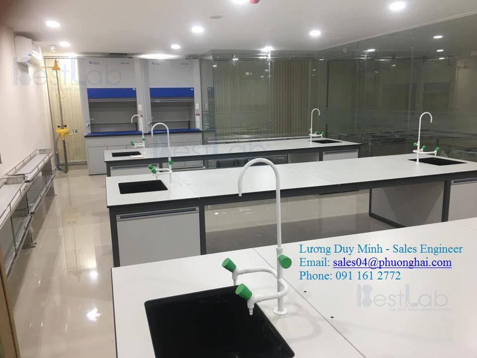 Thiết kế miễn phí phòng thí nghiệm, phòng sạch