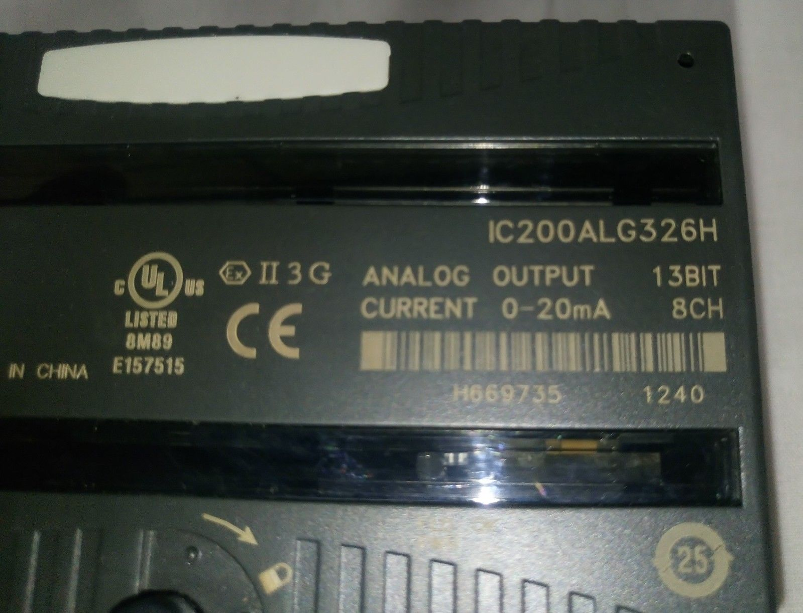 Cung cấp Analog Output Module IC200ALG326 hãng GE-FANUC