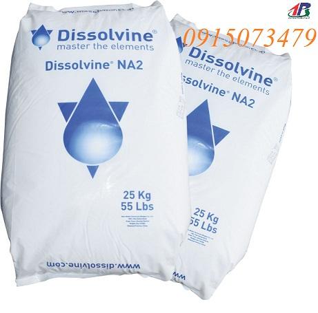 Cung cấp EDTA Hà Lan 2 muối hàng nguyên liệu - Dissolvine Na2, sản phẩm EDTA tốt nhất hiện nay