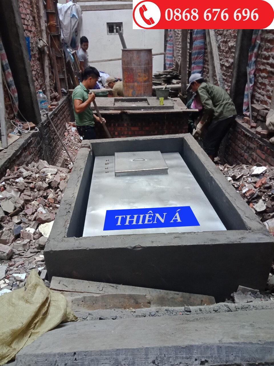 Bể Vuông Inox 304 - Thiên Á Sản Xuất Bể Vuông Theo Yêu Cầu