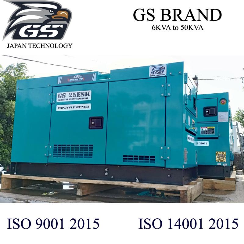 Mẫu máy phát điện cho container lạnh công nghệ Nhật, tiêu chẩn ISO 9001 2015, ISO 14001 2015, CE