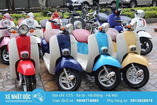 Đánh giá xe Honda Crea 50cc