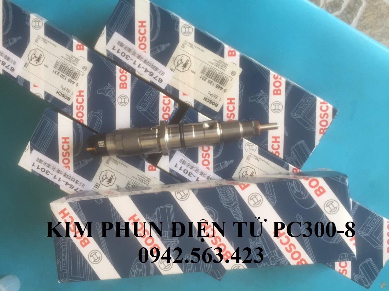 Kim phun điện tử Komatsu PC300-8
