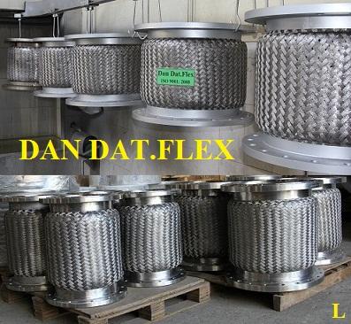 Khớp nối mềm inox chống rung 42x600mm, ống mềm inox, khớp chống rung inox