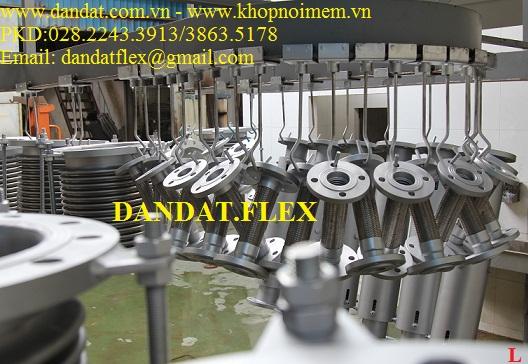 Khớp nối mềm inox ( nối bích, nối ren)/khớp giãn nở nhiệt