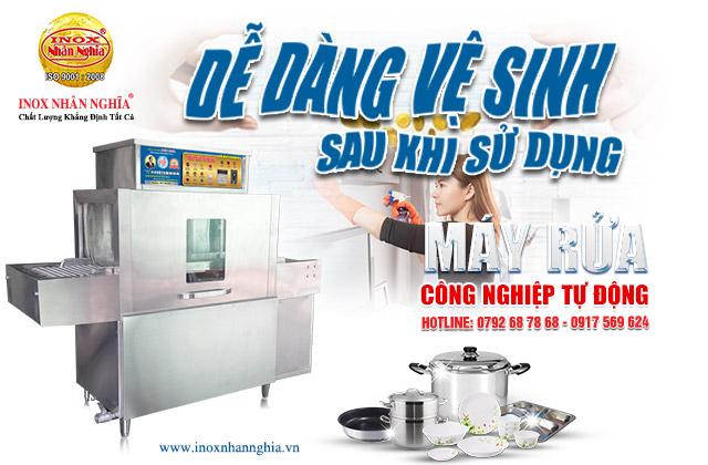 Nhà sản xuất máy rửa chén công nghiệp uy tín giá rẻ