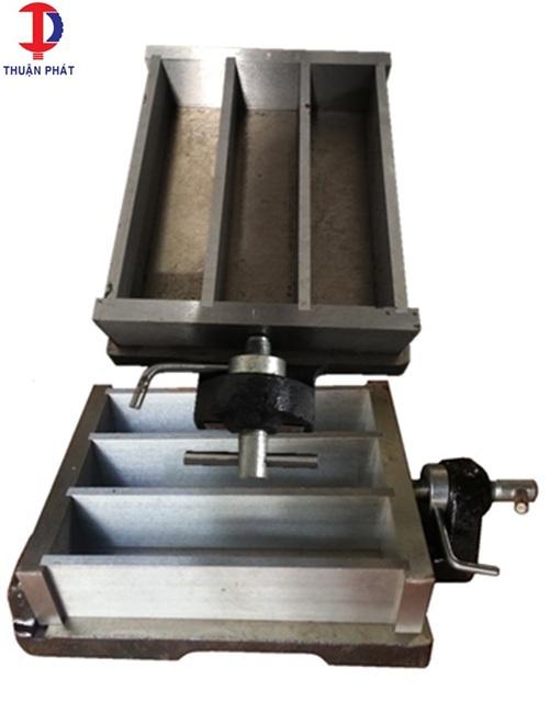 Khuôn đúc mẫu vữa xi măng 40x40x160mm kép 3