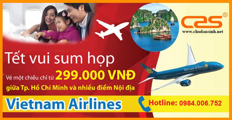 [KHUYẾN MÃI] Vietnam Airlines
