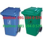Thùng rác 100L, 120L, 240L có đạp chân