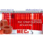 Màn nhựa PVC chắn tia lửa hàn, hồ quang điện, cảnh báo nguy hiểm