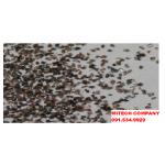 Hạt ôxít nhôm nâu (aluminum oxide brown) lam sach be mat kim loai