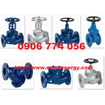 Van cầu hơi / Lọc Y / Van một chiều / Y strainer / Check valve / Globe valve / MIVAL / Bellow sealed stop valve PN16 PN25 PN40