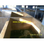 phủ bể bê tông nuôi thủy sản composite