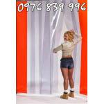 Lắp đặt màn nhựa pvc tiết kiệm chi phí, màn cửa công nghiệp