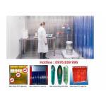 Rèm cửa nhựa  pvc chống tĩnh điện, rèm nhựa pvc phòng sạch