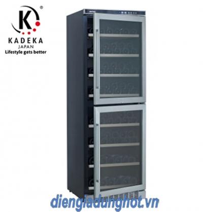 TỦ ƯỚP RƯỢU KADEKA KA-165T (165 CHAI)