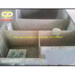Bể tự hoại composite thiết kế theo yêu cầu diện tích