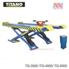 Cầu nâng ô tô kiểu xếp 3.5 tấn, bàn rộng -TG3500