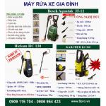 Địa chỉ bán máy rửa xe gia đình – máy phun xịt rửa mini giá rẻ