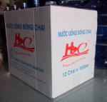 Nước tinh khiết H2O - Loại thùng 350ml