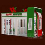 Cua nhua|cua nhua loi thep|cửa nhựa|cửa uPVC Happy Window