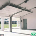 Cửa nâng garage, cửa trượt trần tự động GLOBE