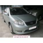 bán Toyota vios 1.5 G,sản xuất 2003,màu xanh