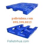 Pallet nhựa dùng xe nâng, ballet ,pallet cũ