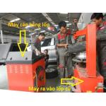 Những thiết bị trong xưởng sửa chữa lốp