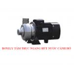 Bơm ly tâm trục ngang hút nước thải cánh kín CNP SC15/1.1