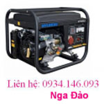 Máy phát điện Hyundai HY7000LE khởi động đề - Chạy xăng