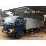 Xe tải Hyundai Đồng Vàng HD72 3T5 thùng