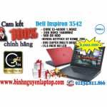 Dell Inspiron 3542 (DND6X2) – Core™ i3-4030U 2GB 500GB VGA 2GB - Bảo hành chính hãng