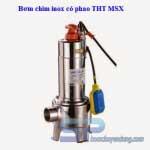 Bơm chìm hút bùn inox MSX15-1 1.5HP