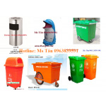 Thùng rác các loại ,thùng rác hình thú