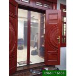 Cửa lưới xếp chống muỗi Quang Minh