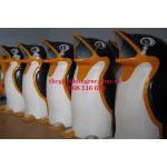 Thùng rác nhựa composite chim cánh cụt giá