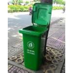 Thùng rác 120l - Thùng rác giá rẻ