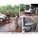 Mô hình rửa xe kết hợp thay vá