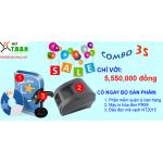 Bộ thiết bị và phần mềm quản lý bán hàng 3s giá mềm
