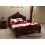 Giường ngủ, Giường cô dâu kiểu hoa hồng GN49