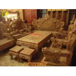 Đồ gỗ đồng kỵ Bộ bàn ghế phòng khách Rồng Bảo Đỉnh RD08