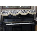 Mẫu khăn phủ đàn piano trang trí Tết hiệu quả