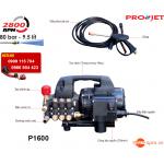 Máy phun xịt rửa xe máy loại cao áp PROJET P1600