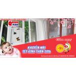 Cửa chống muỗi Quang Minh - Khuyến mại chòa xuân 2016
